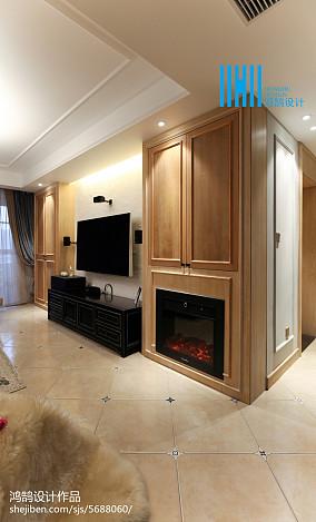 简洁119平混搭三居装修效果图三居潮流混搭家装装修案例效果图