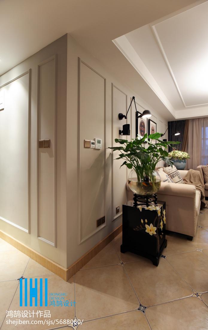 热门91平米3室混搭装修图片大全客厅窗帘潮流混搭客厅设计图片赏析
