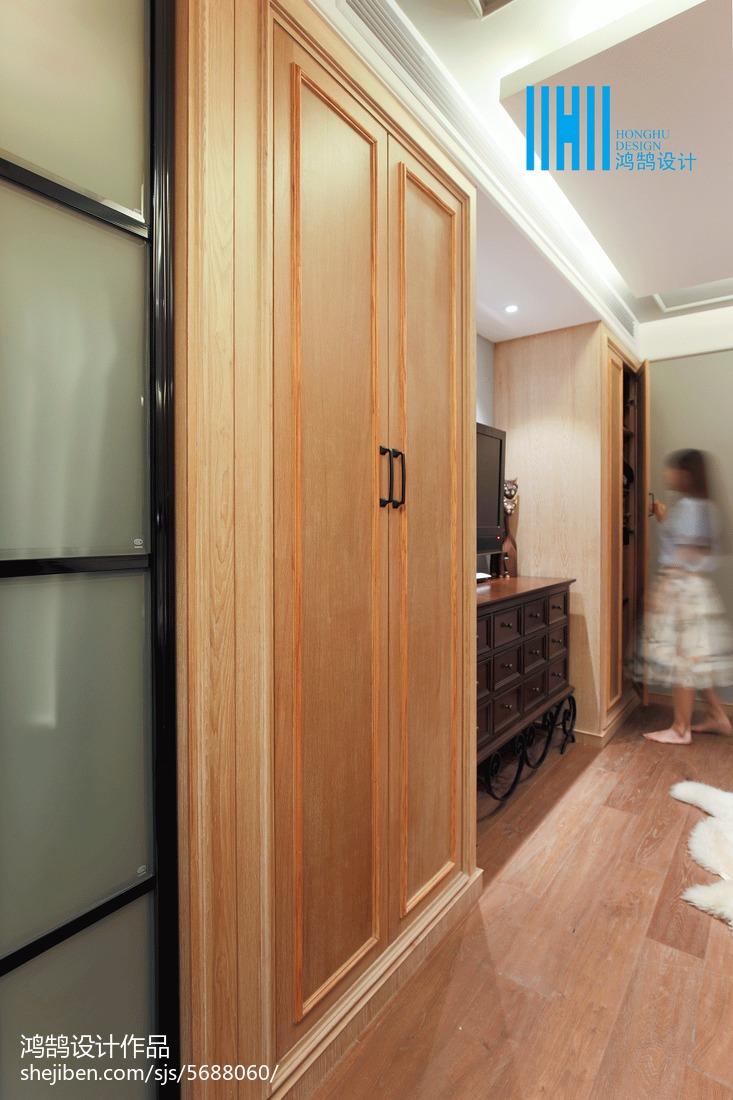 精选大小103平混搭三居卧室装修实景图卧室木地板潮流混搭卧室设计图片赏析