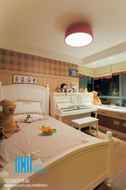 热门92平米三居儿童房混搭效果图片大全卧室2图