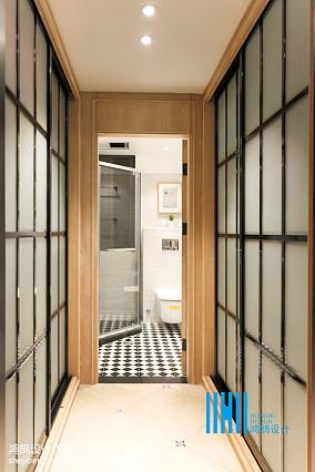 面积98平混搭三居卫生间装修实景图片欣赏家装装修案例效果图