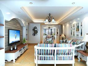 现代家居婚房小厨房装修效果图