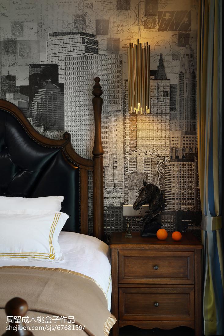 95平方三居卧室混搭装修欣赏图片大全卧室潮流混搭卧室设计图片赏析