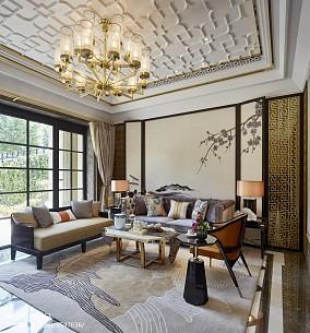 400㎡中式现代家装装修效果图
