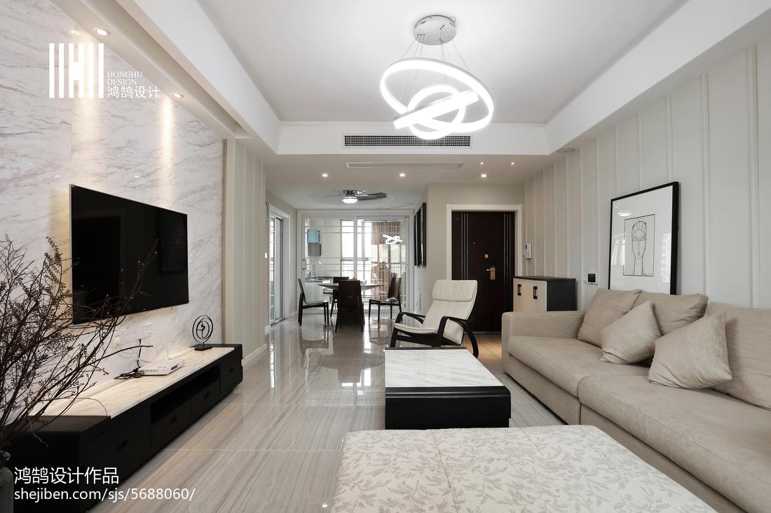 精选100平方三居客厅现代装饰图片大全客厅现代简约客厅设计图片赏析