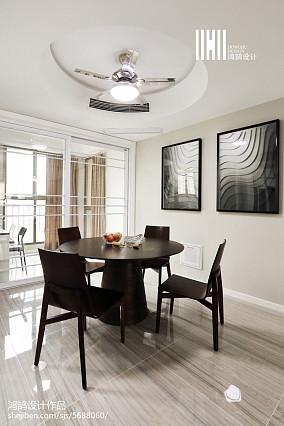 温馨125平现代三居效果图三居现代简约家装装修案例效果图