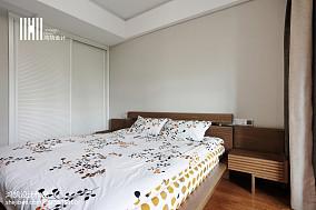 面积100平现代三居卧室效果图片大全三居现代简约家装装修案例效果图