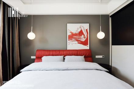 精选108平方三居卧室现代装修效果图片大全
