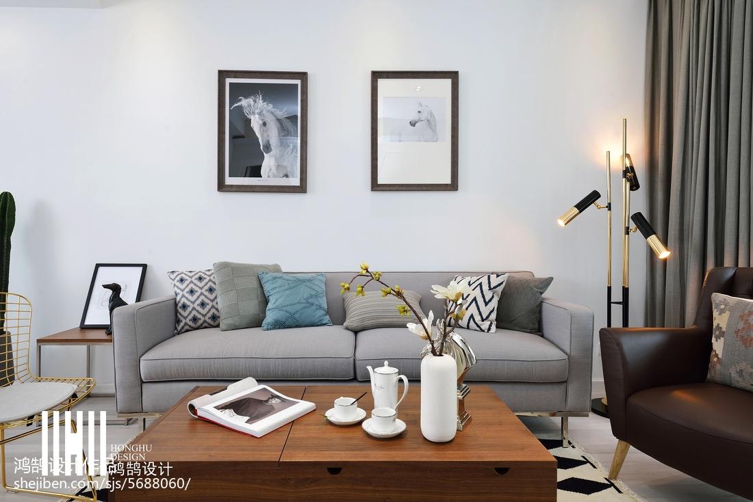 精选面积97平北欧三居客厅装修欣赏图片大全客厅