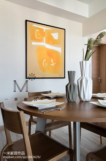 精美面积77平现代二居餐厅装修效果图片厨房