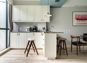 精选面积94平简约三居厨房装修效果图片大全