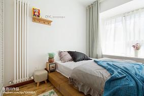 2018103平米三居卧室装修实景图片大全
