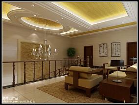现代简约客厅沙发背景墙效果图欣赏
