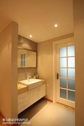 热门面积97平日式三居卫生间欣赏图片卫生间日式设计图片赏析
