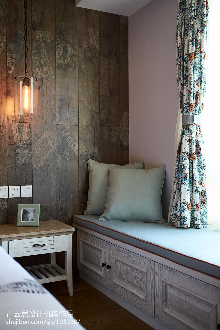 精选96平米三居卧室混搭效果图片大全客厅