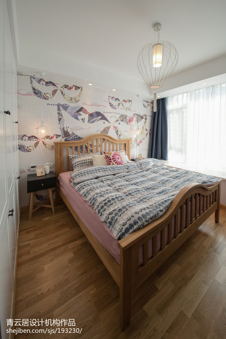 精美面积96平日式三居卧室装修设计效果图卧室
