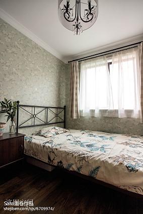 精选87平米二居卧室美式装修设计效果图片大全