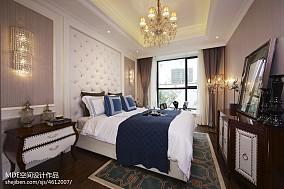 美式轻奢卧室效果图