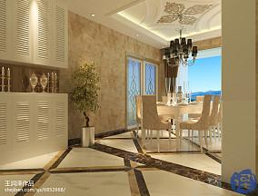 美式四居装修设计效果图大全