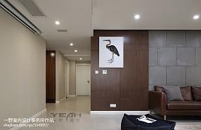 面积114平现代四居客厅装修效果图片大全