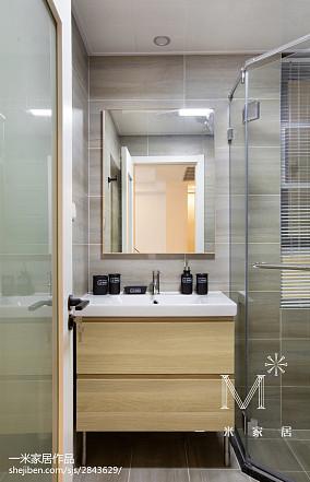 面积87平小户型卫生间现代效果图片欣赏