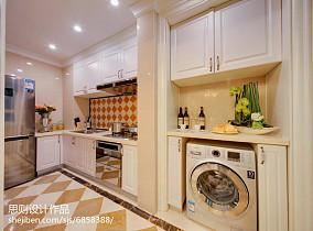 热门厨房欧式实景图片