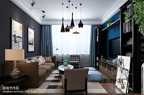 热门面积90平宜家三居客厅装修设计效果图片欣赏