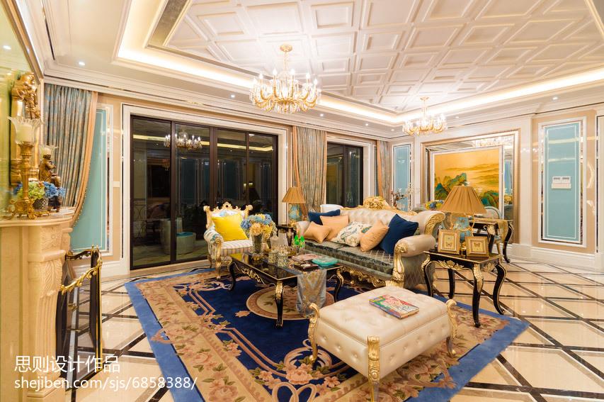热门简欧客厅装修效果图片客厅北欧极简客厅设计图片赏析