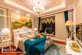 热门卧室简欧效果图片大全样板间北欧极简家装装修案例效果图