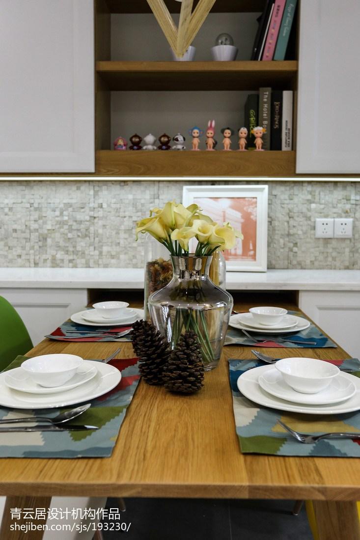 热门74平米二居餐厅日式装修设计效果图片欣赏厨房日式餐厅设计图片赏析