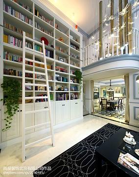 华丽630平美式别墅装饰图别墅豪宅美式经典家装装修案例效果图