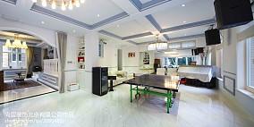 优雅686平美式别墅设计案例别墅豪宅美式经典家装装修案例效果图