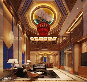 美式风格别墅设计装修效果图欣赏