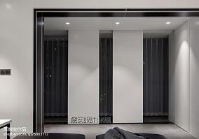 华丽113平现代三居玄关装修设计图
