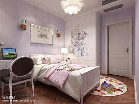 美式一居客厅效果图片欣赏