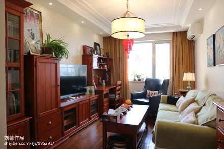 美式风格家居客厅设计图片客厅2图