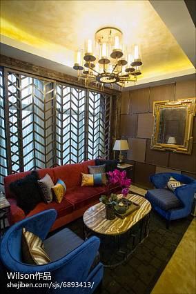 现代设计室内卧室装修图