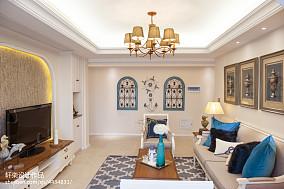 精美客厅田园装修效果图客厅2图美式田园设计图片赏析