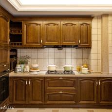 田园风格厨房橱柜设计图