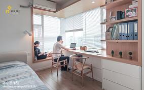 2018精选日式三居书房装修效果图片大全功能区设计图片赏析