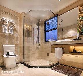 中式大窗户浴室装修