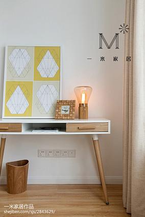 精美80平米二居客厅北欧装修设计效果图片二居北欧极简家装装修案例效果图