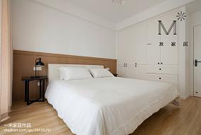 热门二居卧室北欧实景图片二居北欧极简家装装修案例效果图