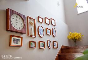 温馨52平日式复式实景图复式日式家装装修案例效果图