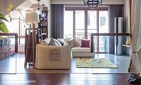 精美日式复式客厅装修设计效果图片大全复式日式家装装修案例效果图