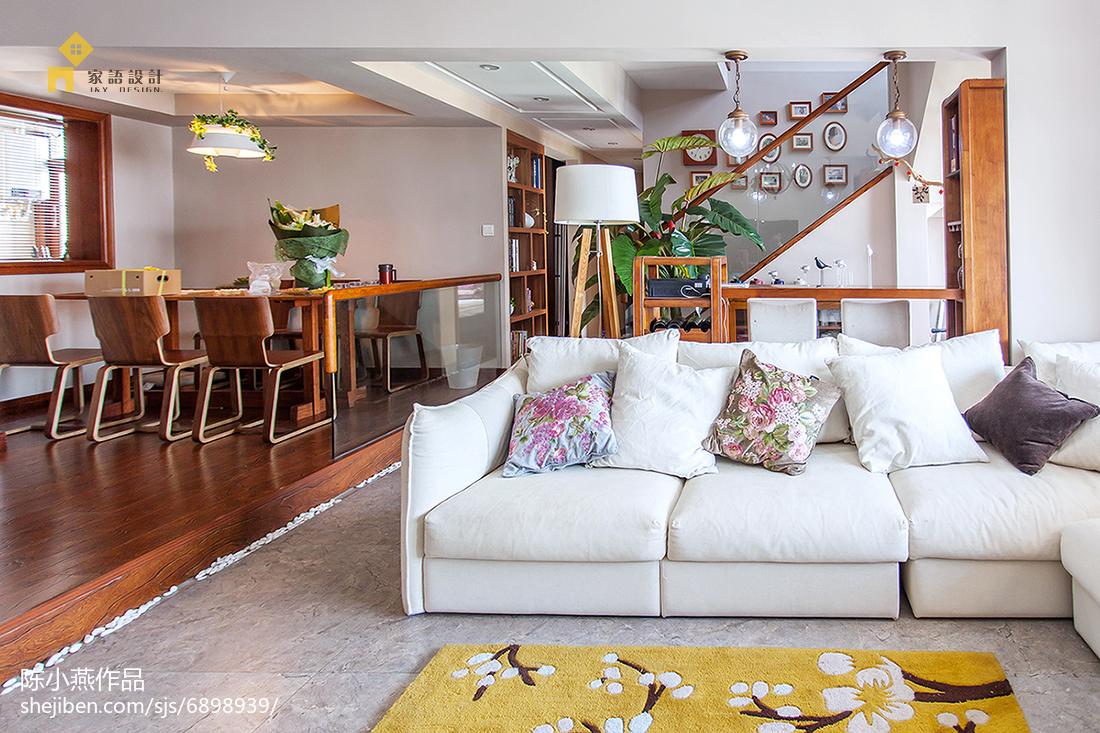 精选132平米日式复式客厅装修效果图片欣赏客厅日式客厅设计图片赏析