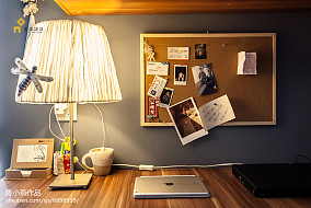 2018精选118平米日式复式书房装修图复式日式家装装修案例效果图