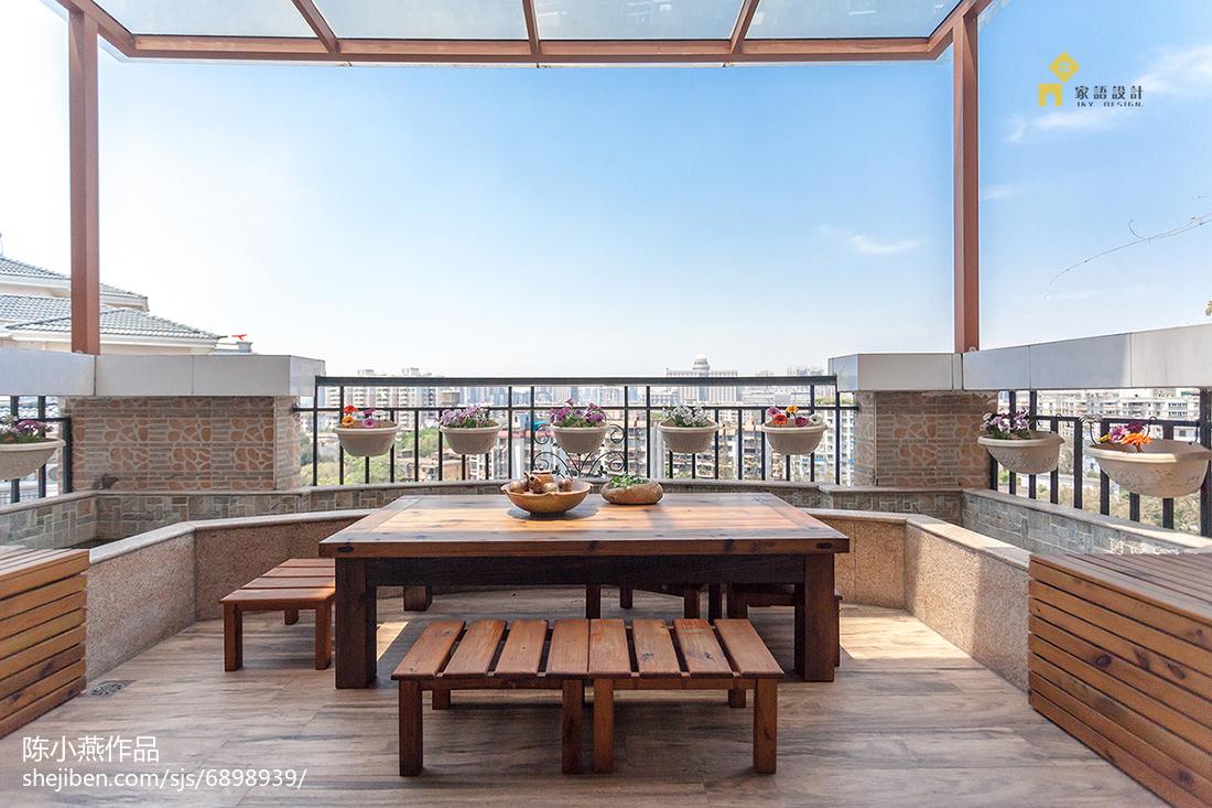 质朴47平日式复式阳台实拍图阳台日式阳台设计图片赏析