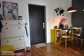 精美玄关宜家效果图片样板间现代简约家装装修案例效果图