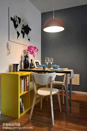 2018精选餐厅宜家装修设计效果图片样板间现代简约家装装修案例效果图